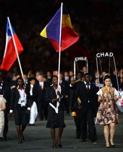 Tchad: La judoka Carine Ngarlemna est porte drapeau aux JO 2012 dans SPORTS 530024_449822915037750_386503149_n1-243x300