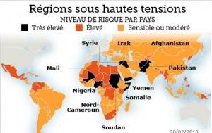 France: le Tchad et le Cameroun déconseillés par le MAE dans ACTUALITES 1361441795669-300x189