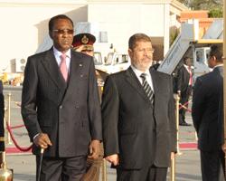 Le Président Idriss Déby Itno au 12ème Sommet de l'OCI au Caire dans ACTUALITES im_05_02_2013_8