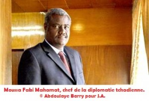 Tchad - Moussa Faki Mahamat :