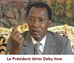 Le président Deby évoque la