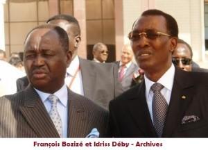 Centrafrique : le Tchad dément les accusations de Bozizé dans ACTUALITES deby-et-bozize-300x216
