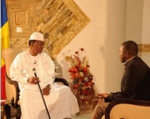 Interview exclusive du président Idriss Déby Itno à la chaine Al-Jazeera  dans ACTUALITES idi-et-el-jazzera-300x238