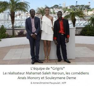 66ème Festival de Cannes: La nuit, le Tchad est «Grigris» dans ACTUALITES 000dv1484316-300x274