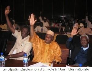 Tchad: l'Assemblée nationale demande l'élargissement de deux députés arrêtés pour conspiration dans ACTUALITES deputes_0-300x237