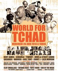 World for Tchad : un show géant pour sauver des vies dans ACTUALITES worldfortchad-246x300