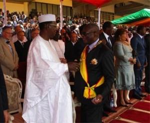 Tchad: qui paie les casques bleus de la Minusma ? dans ACTUALITES deby_ibk-300x245