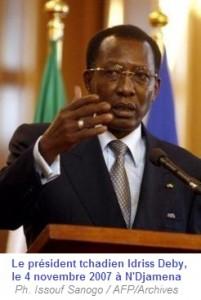 Tchad : Le Président Idriss Déby s'adresse aux centrafricains  dans ACTUALITES 6154860-9195104-201x300