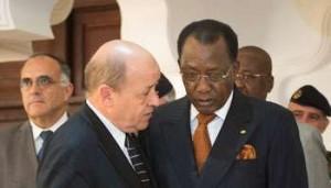 Centrafrique - Tchad : le courant passe entre Déby Itno et Le Drian dans ACTUALITES 017022014113439000000ja2771p008-300x171