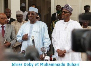 idriss deby et Muhammadu Buhari